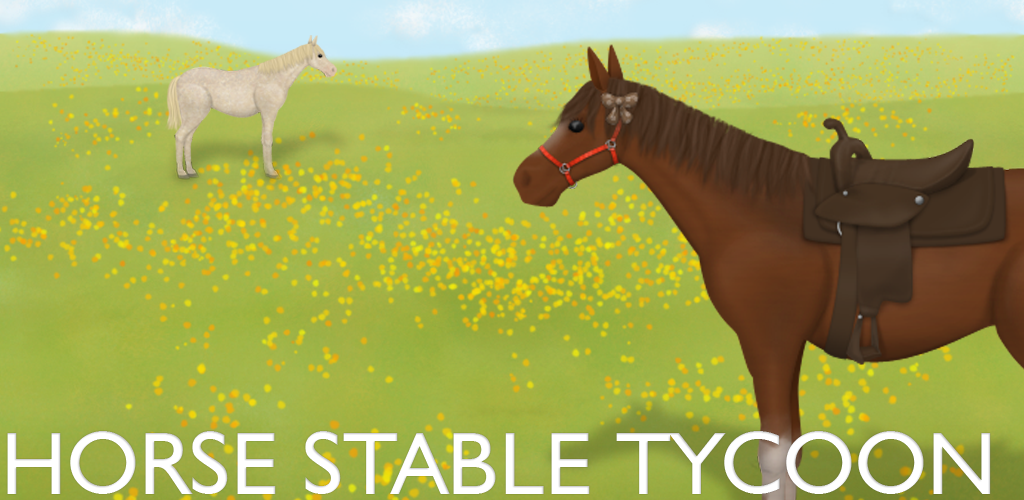Horse Stable Tycoon Feature Graphic